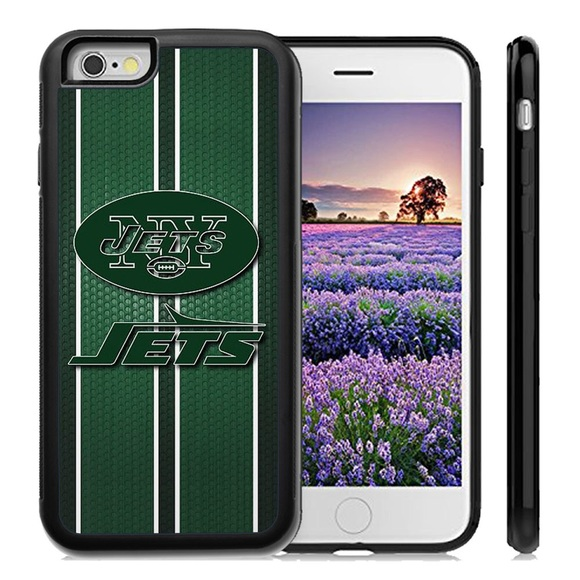 reputable site bc047 85fc1 New York Jets iPhone X 8 plus 7 6 6S SE 5C 5S case